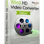 WinX HD Video Converter Deluxe 無料配布キャンペーン実施中