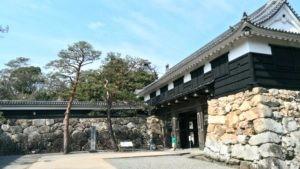 高知城城門
