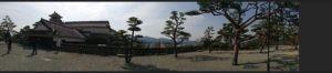 高知城パノラマ